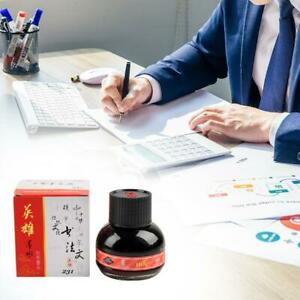 60ml-234-Red-Carbon-Fountain-Pen-Ink-Writing-Ink-Refill-Glass-Bottle-Stationary