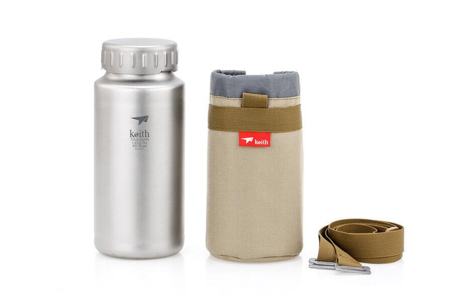 Keith Titanium Ti3036 Bottle Sport Bottle Ti3036 - 40.6 oz (Shipped from California, USA) 2c9907
