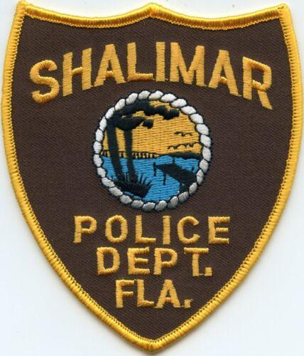 SHALIMAR FLORIDA FL POLICE PATCH