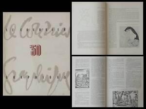 Le Courrier Graphique N°50 1951 Pierre-yves Tremois, Livre, Devigne, Belgique