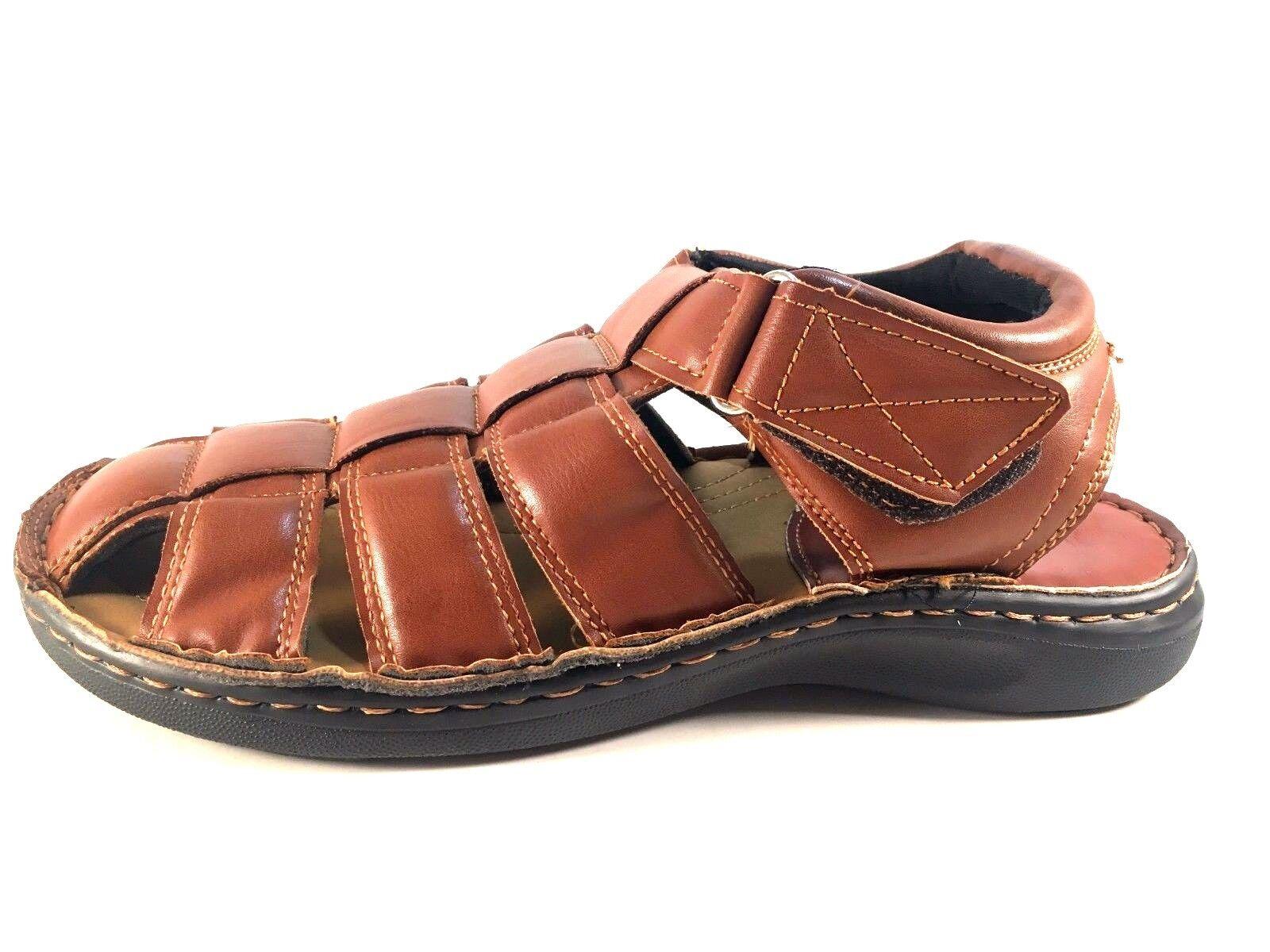 Eurbak 1532 Toe Men's Closed Toe 1532 Sandals Choose Sz/Color 40ccad