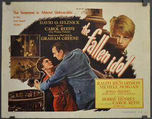 THE-FALLEN-IDOL-1948-ORIG-22X28-MOVIE-POSTER-RALPH-RICHARDSON-SONIA-DRESDEL