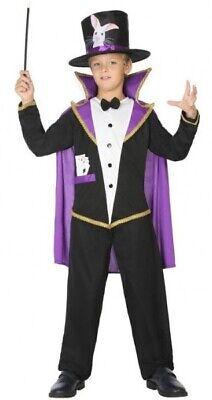 Umoristico Ragazzi Ragazze Mago Halloween Carnevale Costume Circo Vestito Da 3-12yrs-