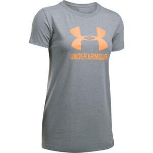 Under-Armour-Damen-Sportstyle-Crew-T-Shirt-Frauen-NEU