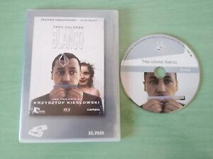 BLANCO-TRES-COLORES-KRZYSZTOF-KIESLOWSKI-JULIE-DELPY-DVD-SLIM-ESPANOL-FRANCAIS