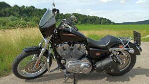 Harley Davidson Verkleidung in Schwarz, abnehmbar, neuwertig mit ABE