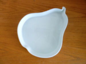 Pear Shaped Serving Dish Bowl Casserole Made in France