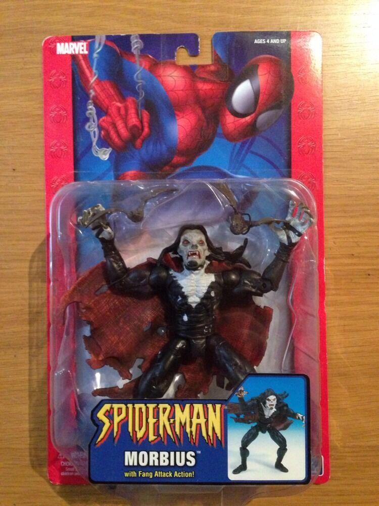 Marvel - spider - man - morbius actionfigur, spielzeug - biz moc versiegelt   71874 (b91)