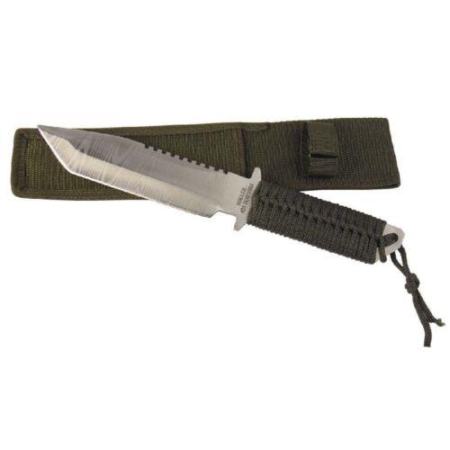 Haller Outdoormesser 84499 Arbeitsmesser 16cm feststehend rostfrei mit Scheide