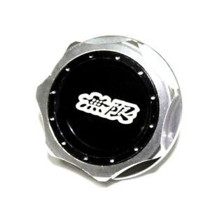 JDM MUGEN EMBLEM BRUSHED BLACK ENGINE OIL FILLER CAP BADGE FOR HONDA - Acura emblem black
