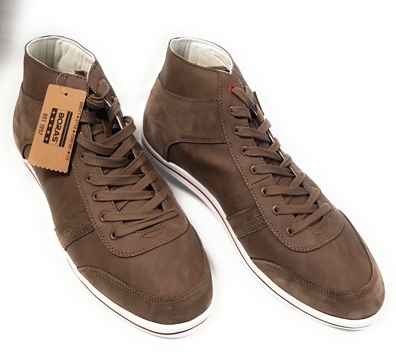 Boras Contact mid Herren Schuhe Sneaker Schnürschuhe Freizeit Men Shoes NEU