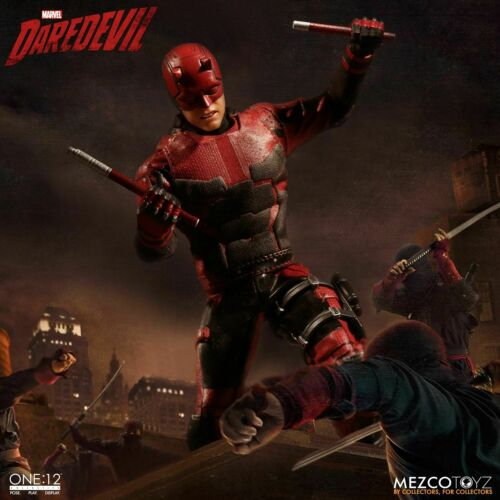 "Mezco Toyz Marvel Comics Netflix One:12 Daredevil 6/"" Action Figure WC76650"