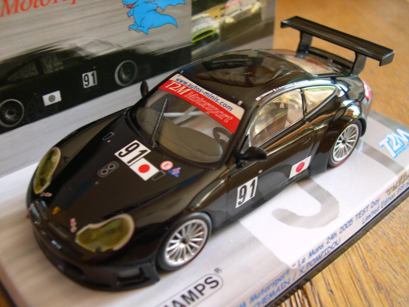 PORSCHE 911 GT3 LM 2005 T2M MINICHAMPS 1 43  999 PCS 403056971