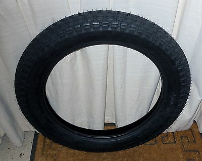 """Mitas Classic / Vintage Motorcycle Tyre - Tube Combo 4.00"""" - 19"""", Front and Rear"""