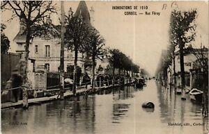CPA-Corbeil-Inondations-de-1910-Rue-Feray-489009