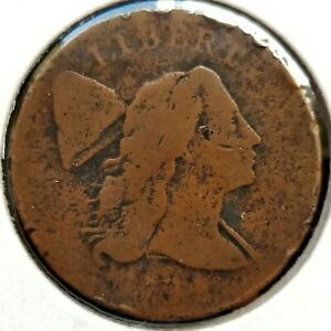 1794-FLOWING-HAIR-LIBERTY-CAP-LARGE-CENT-AG-CIRCULATED-NICE