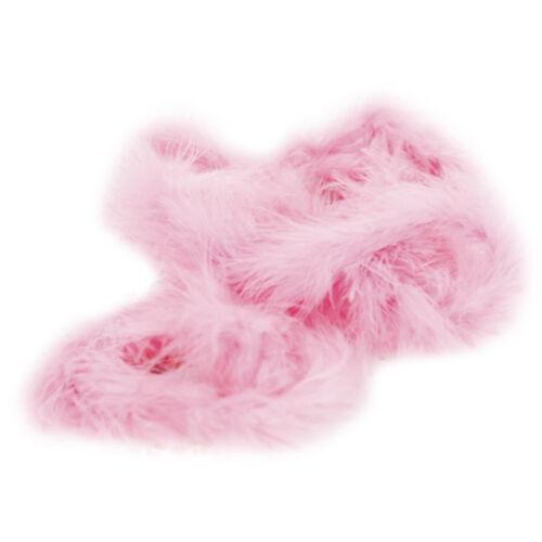 Pink 6ft Marabou Feather Boa for Diva Night Tea Party Wedding Decor
