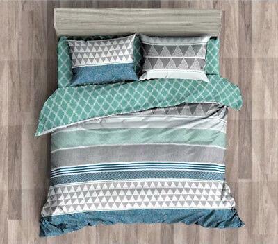 Queen//King//SuperKing Size Bed Duvet//Doona//Quilt Cover Set New Ar M295