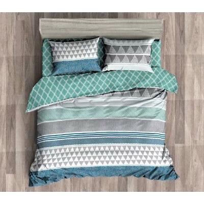 Queen/King/SuperKing Size Bed Duvet/Doona/Quilt Cover Set New Ar M358