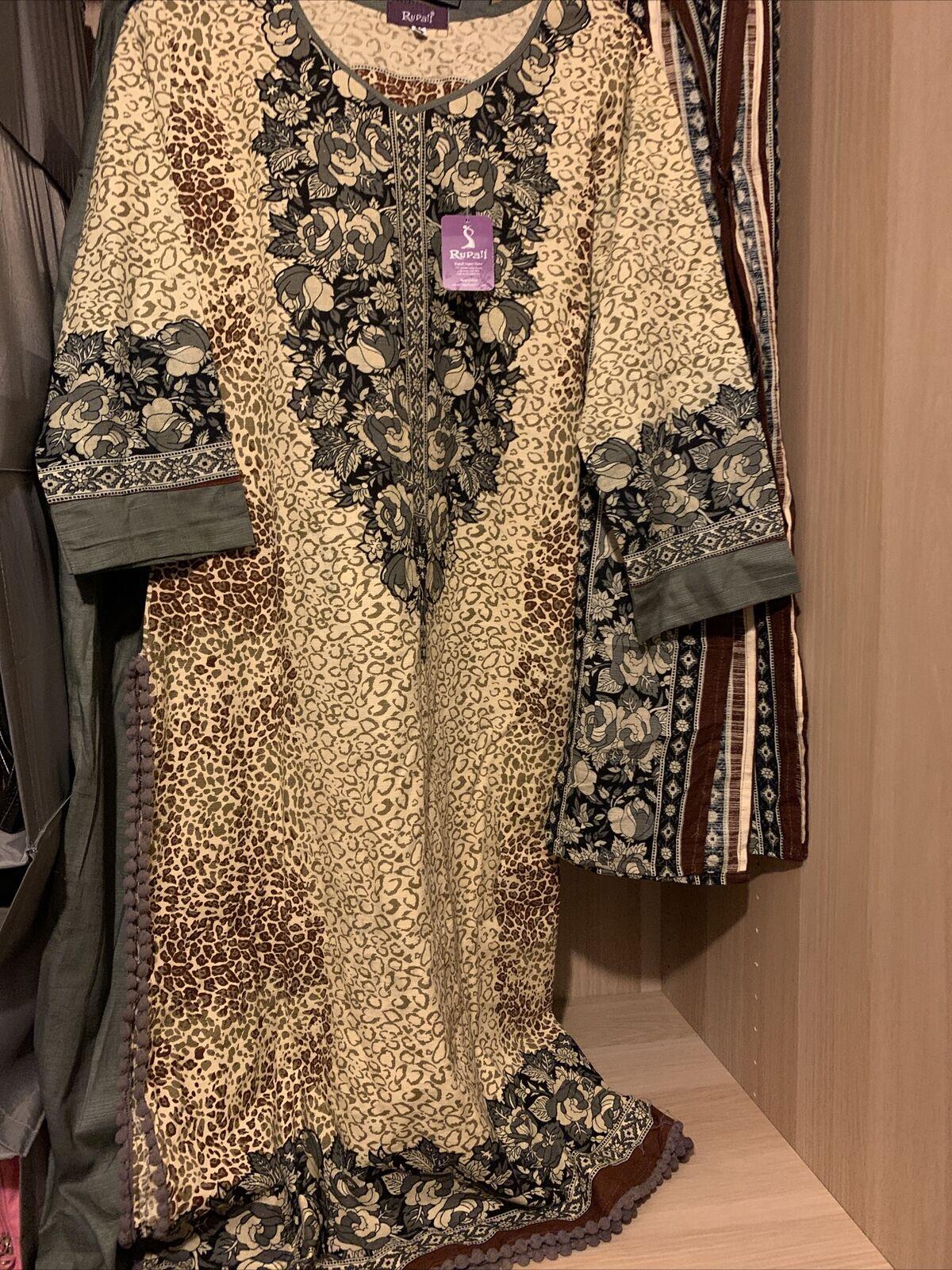 khaddar/ Linen suit stitched (RRP )