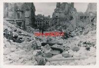 2 x Foto, Luftwaffe, Einsatz in Frankreich, Zerstörtes Dünkirchen