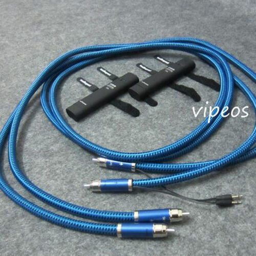 SKY RCA Interconnect Audio Cables with 72V DBS for Tube amplifier CD player 1.0m