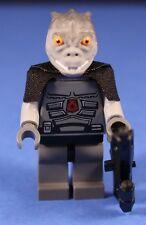 LEGO® STAR WARS™ Custom Gray TRANDOSHAN Hunter Lizard Chief Warrior + Blaster