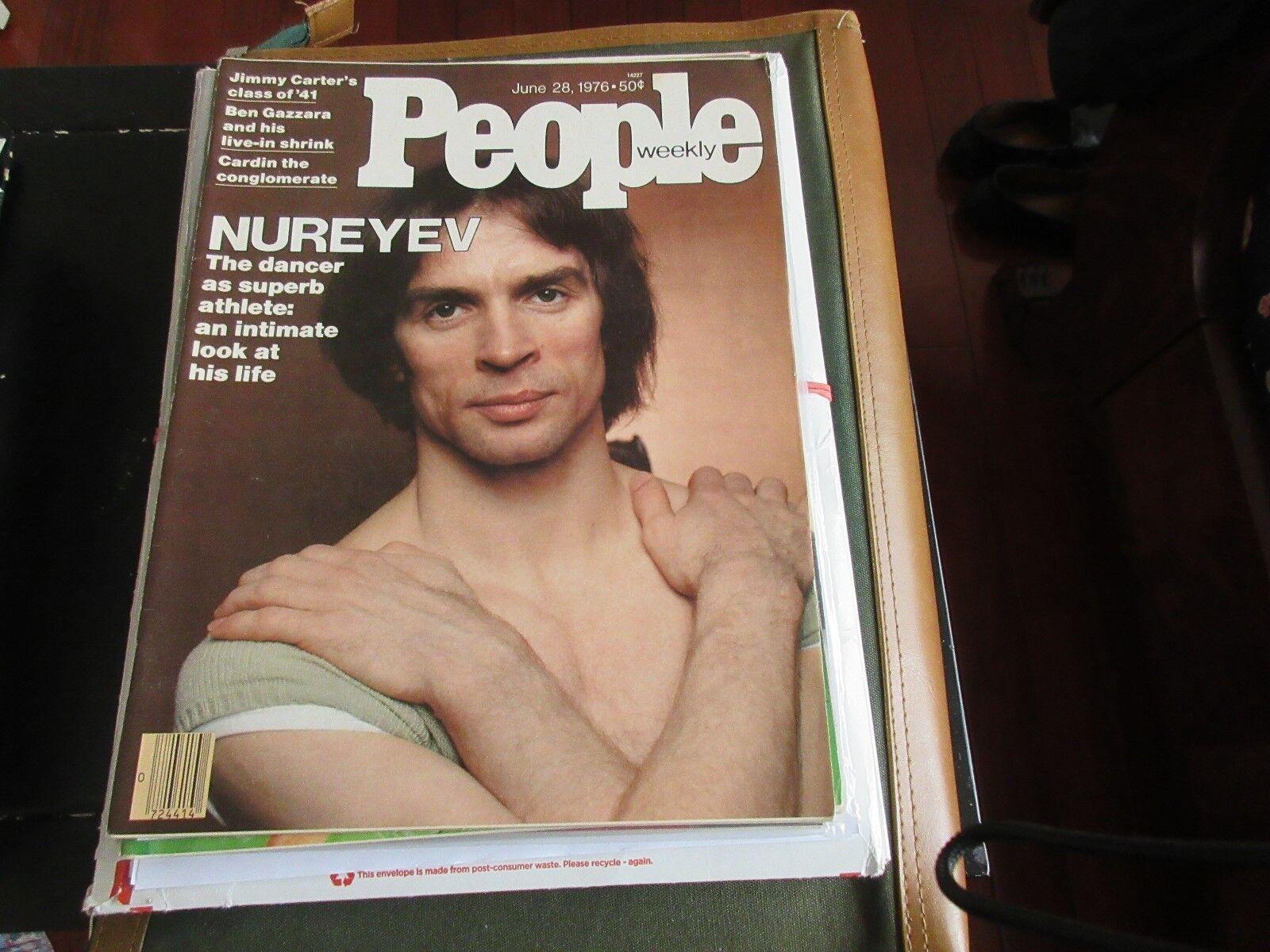 NUREYEV , PEOPLE MAGAZINE , 6/28/76, Jimmy Carter , Ben