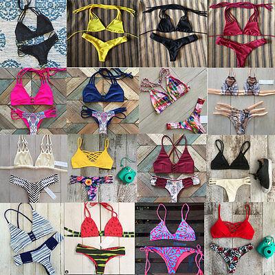 Sexy Women Bikini Set Push-up Padded Bra Bandage Swimsuit Swimwear Bathing Suit