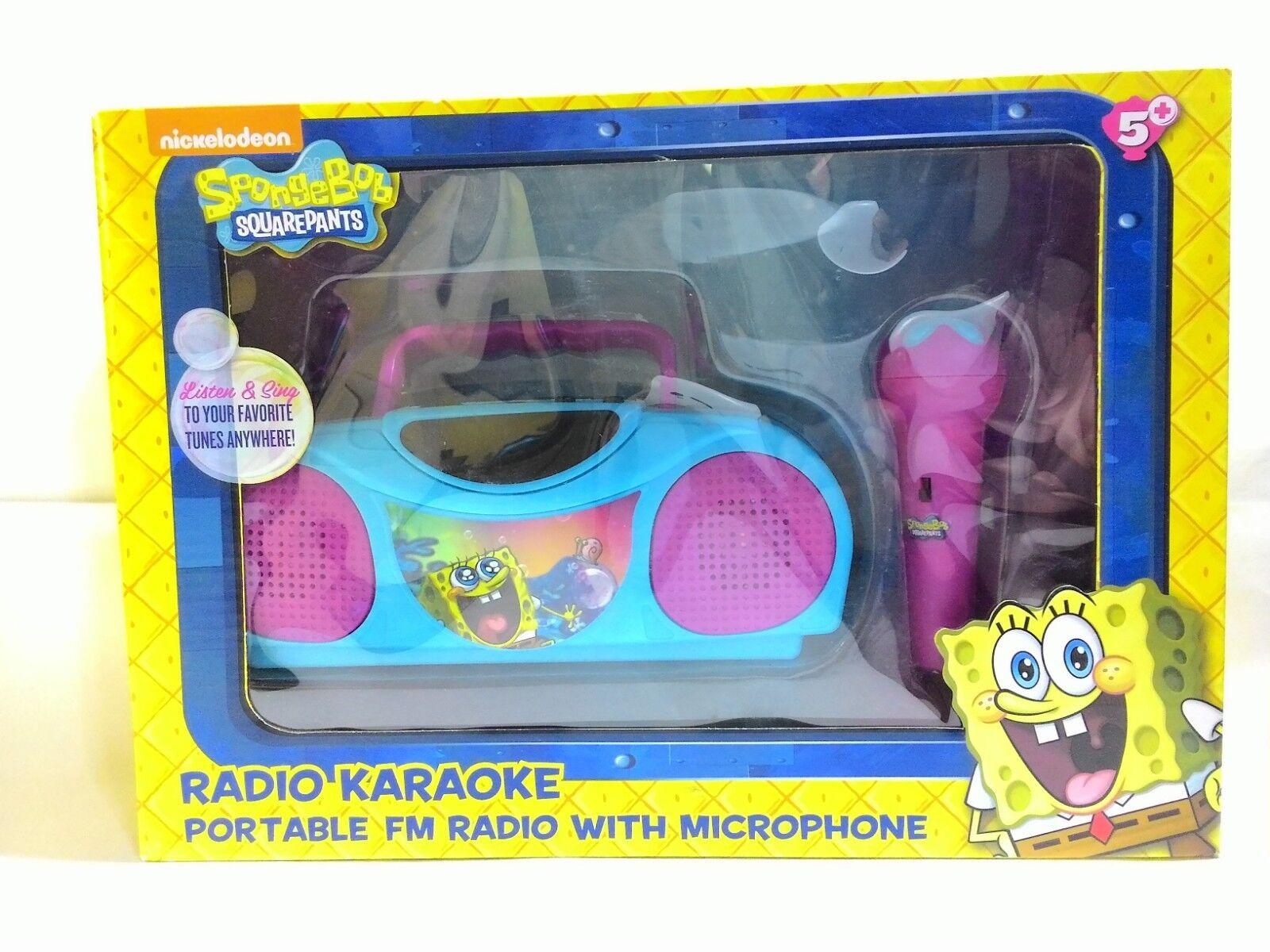 Sponge Bob 16367 Karaoke Radio Kits by Sakar