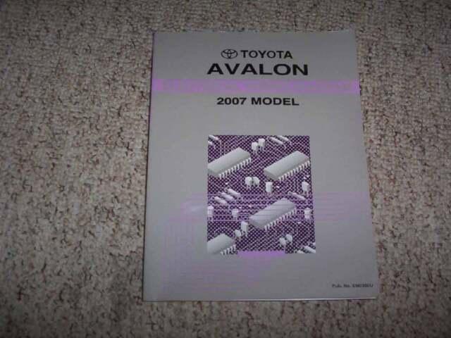 2007 Toyota Avalon Electrical Wiring Diagram Manual Xl Xls