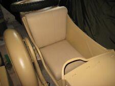 Dnepr MT New Handmade Sidecar Seat & Backrest With Stitching #5