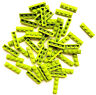 LEGO NEW BULK LOT OF 50 1x4 1 X 4 LIME GREEN FLAT PLATE / PLATES BASEPLATE -INTL