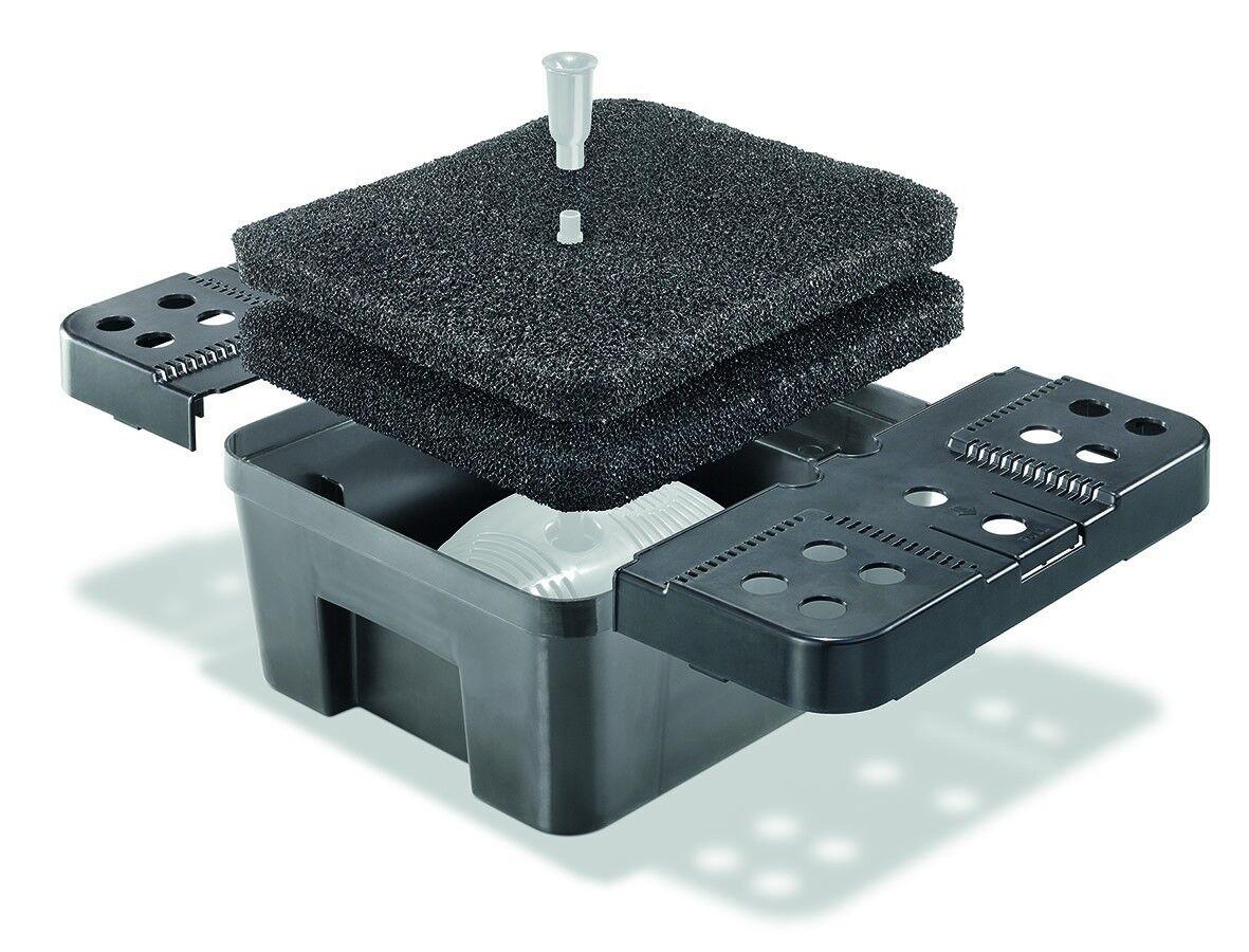 Scatola Filtro XL per Stagno Pompa da Solare Immersione Giardino Nuovo