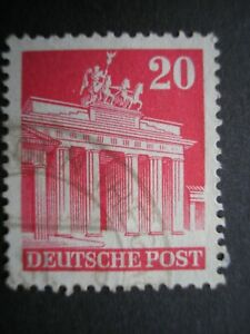 Cold War Allied Occupation of Germany stamps x2