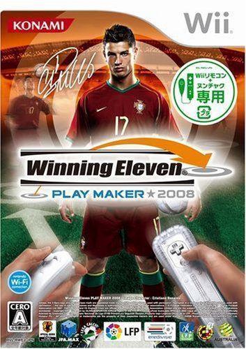Used Wii Winning Eleven Play  2008  Nintendo JAPAN JP JAPANESE JAPONAIS IMPORT