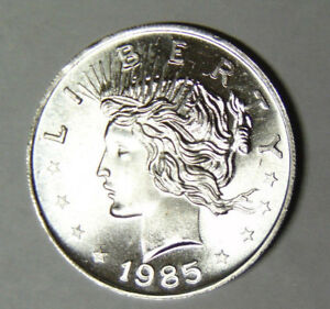 1985-Peace-Silver-Dollar-Style-1-oz-999-Fine-Silver-Round-92118