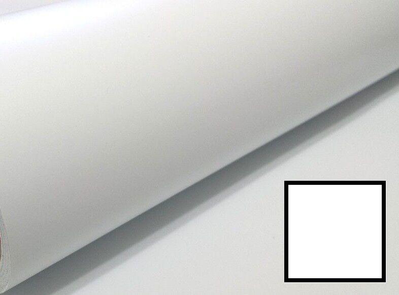 "Matte Self-Adhesive Calendar Sign Vinyl 12/"" x 150 ft or 50yd 1 Roll White"