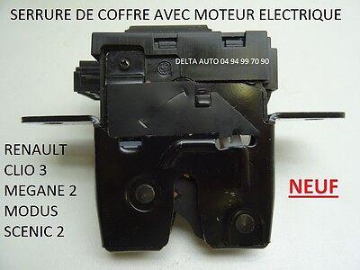 SERRURE ELECTRIQUE HAYON RENAULT CLIO 3 SCENIC 2 8200076240 8200947699 NEUF