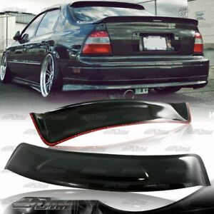 For-94-97-Honda-Accord-Sedan-Black-ABS-Plastic-Rear-Roof-Window-Visor-Spoiler