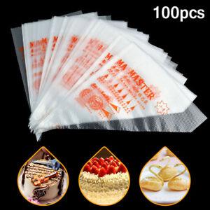 100PCS-Disposable-Piping-Pastry-Bag-Icing-Piping-Cake-Cupcake-Decorating-Tools