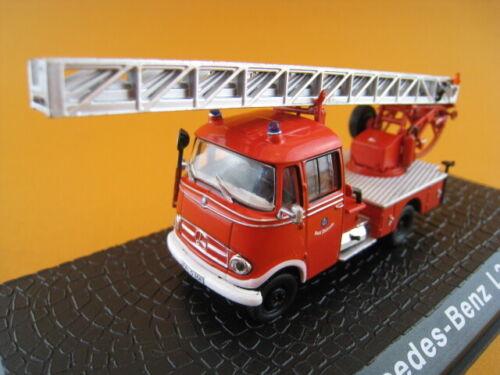 Mercedes-benz l319 escalera giratoria bomberos atlas Edition 1:72 nuevo embalaje original
