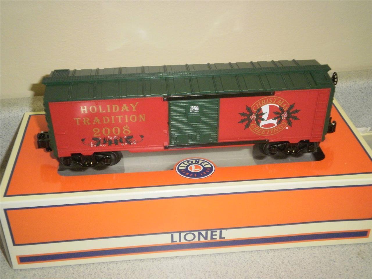 Nuevo Lionel 29956- 2008 Employee Navidad BoxCoche- Nuevo- W3