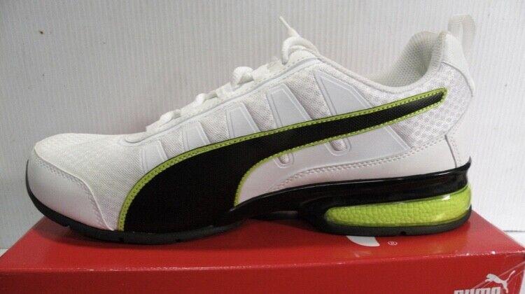 8316ec4dda Men's Size 8.5 Leader running Sneakers White 365292-03 NIB PUMA ...