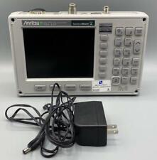 Anritsu Ms2711d Color Portable Rf Spectrum Analyzer 100 Khz To 3 Ghz