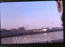 1962 ektachrome 35mm Photo slide car Ship at docks  New Orleans LA