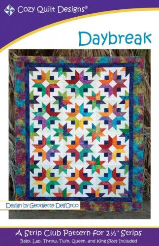 Daybreak Quilt Pattern by Cozy Quilt Designs