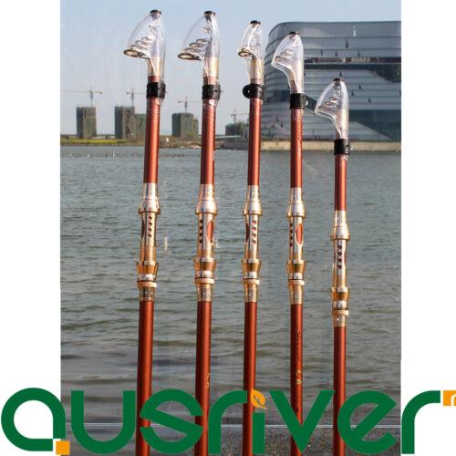 2.1-3.6M Telescopic Hard Carbon Fiber Casting Pole Sea Saltwater Fishing Rod