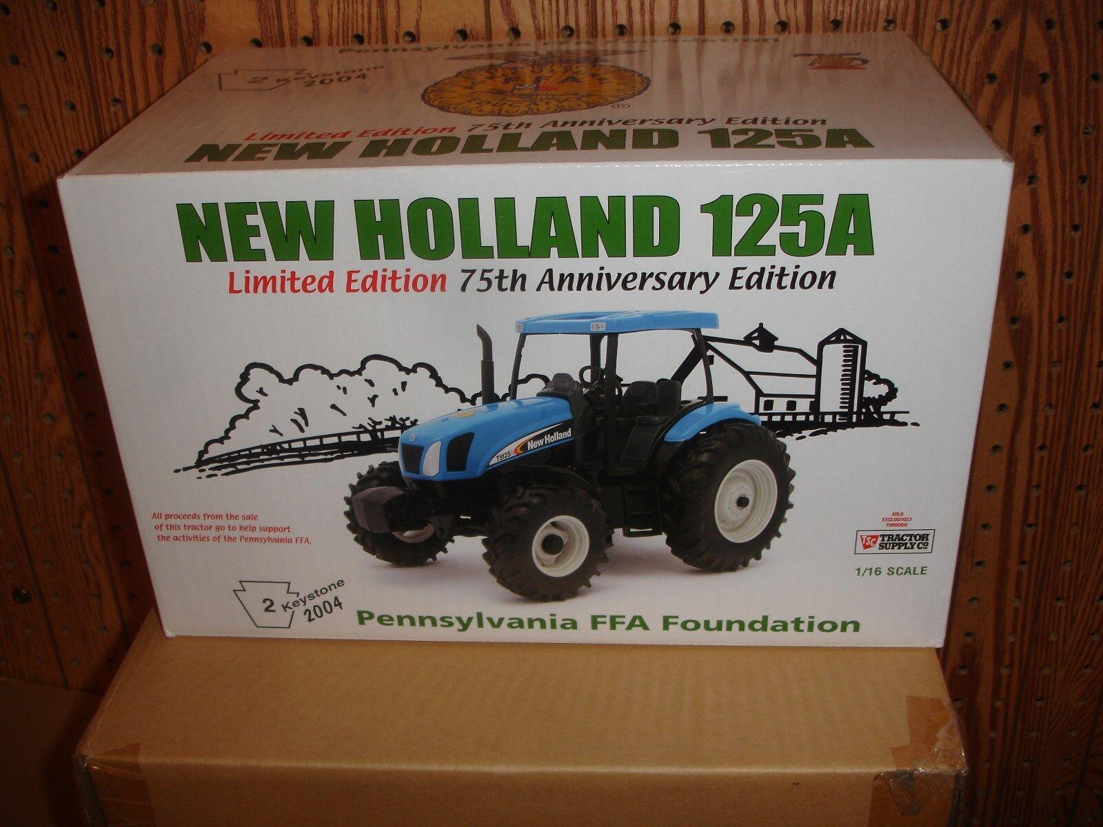 1 16 New Holland 125A Toy Tractor - Pennsylvania FFA