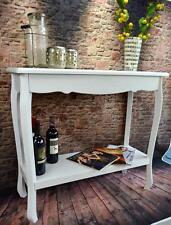 Tischkonsole Konsolentisch Beistelltisch Anrichte barock Weiß Sideboard LV4053